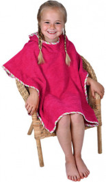 Badeponcho Orchidee-beere