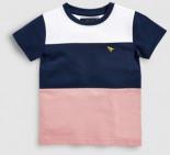 Schickes T-Shirt Blockfarbendesign