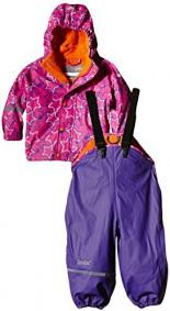 Wasserdichte Regenlatzhose -Jacke Set Mehrfarbig