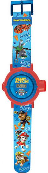 Paw Patrol Projektor-Armbanduhr Mehrfarbig Kleinkinder