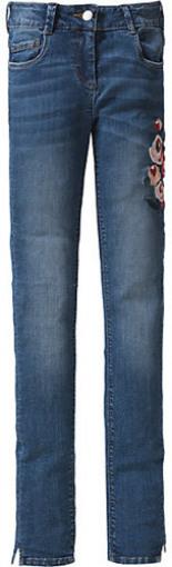 Jeans Skinny Fit mit Stickerei