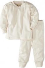 Schlafanzug Bio-Baumwolle Naturfarben