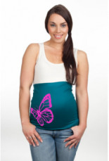 Bauchband Schmetterling Neon