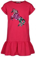 Kurzarm-Kleid UNICORN mit Pailletten