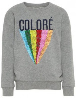 Pailletten Sweatshirt