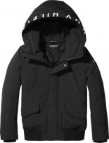 ARCTIC HOODED BOMBER JACKET