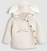 Hasen-Pullover mit Kapuze