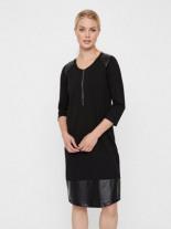 Kunstleder Still-Kleid