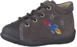 Leder-Sneakers Andy Taupe Babysneakers