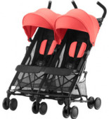 Britax Buggy Holiday Double Coral Peach