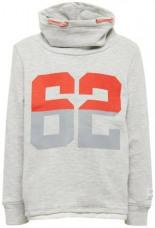 Sweater Sweatshirt mit Underlayer Print