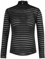 Langarmshirt Striped Mesh