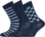 Socken 3er-Pack Ringel Karo