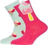 Socken Doppelpack Eis