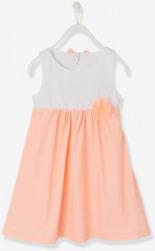 Festliches Kleid aus Satin Koralle von
