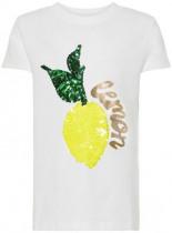 Pailletten T-Shirt