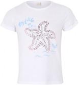 T-Shirt mit Maritimen Motiv Pailletten