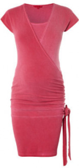 Umstands Still-Kleid JODY Raspberry