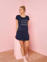 Maxi-Shirt Schwangerschaft Homewear von