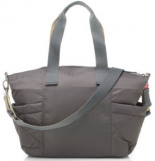 Wickeltasche Evie Quilted Charcoal