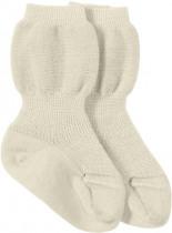 Socke aus Bio-Merinowolle Naturfarben