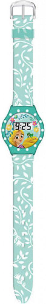 Rapunzel LCD-Armbanduhr mit Strass