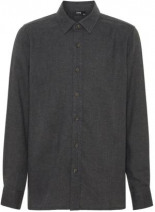 Langärmeliges Baumwoll Hemd