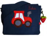 Kindergartentasche TRAKTOR x7cm Personalisierbar