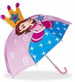 Kinderregenschirm Prinzessin Kleiner Leichter Stockschirm Glockenform