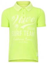 Neonfarbiges Poloshirt