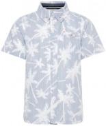 Palmenprint Hemd