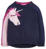 Pullover mit Niedlichem Einhorn-Motiv