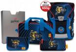 Schulrucksackset ErgoFlex VARIO Lion Bike Kollektion