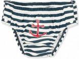 UV-Schutz Windelhose Maritim zum Knöpfen Schwimmwindel Marine