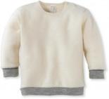 Shirt aus Schurwolle Naturfarben