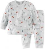 Schlafanzug Bio-Baumwolle bunt