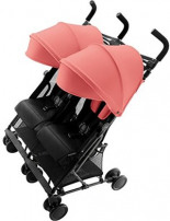 Holiday Double Buggy pro Sitz Kollektion Coral Peach