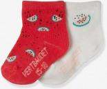 2er-Pack Socken Erdbeer von