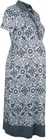 Festliches Umstandsshirtkleid Stillshirtkleid Midi-Länge