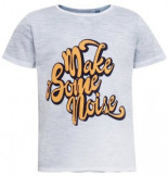 Kurzarmshirt T-Shirt mit Flock-Print