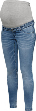 Umstandsjeans MLMYRA slim Light Denim