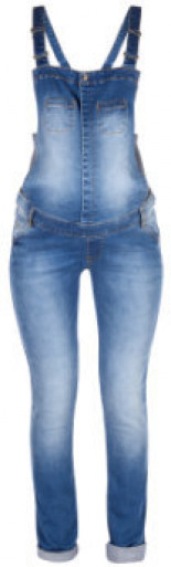 Latzhose Denim Stone Wash