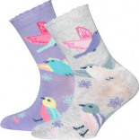 Socken Doppelpack Vögel Kleinkinder