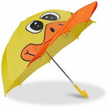 Kinderregenschirm Tiermotive Kleiner Stockschirm bunt