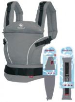 Babytrage First PureCotton Premium Bundle Dark