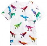 T-Shirt mit Dinosaurier-Digitalprint