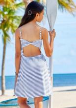 Jerseykleid mit Modischer Rückenlösung