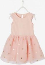 Festliches Kleid mit Tüll Glitzereffekt von
