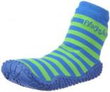 Socke Streifen Aqua Schuhe