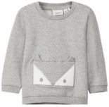 Neutrales Fuchsprint Sweatshirt